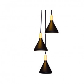 Lampa suspendata GN283PBK 3xE14