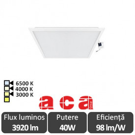 Aca Light Panou Led 40W Incastrabil 60x60