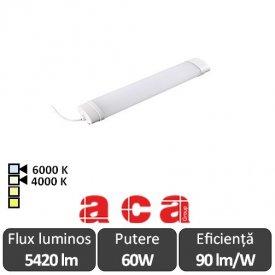 Aca Lighting Corp Iluminat Industrial cu Led Rezistent la Apa TETE Alb-Neutru/Rece 60W