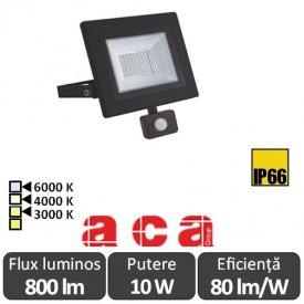 ACA - Proiector LED cu senzor 10W
