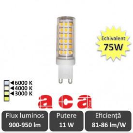 Bec Aca Lighting LED 11W G9 alb-cald/neutru sau rece