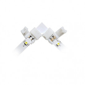 Conector de colt pentru banda LED monocoloră 8-10mm-1 buc