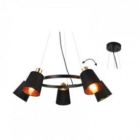 Lampa suspendata EG215P73BK 5xE14