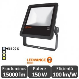 Osram Ledvance - Proiector LED de Exterior 150W IP65 6500K Alb-Rece BK