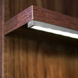 Profil LED aparent BEGTON 12, RAW, aluminiu neanodizat, lungime 2m