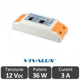 Sursa alimentare MPD LED 36W 12V-3A