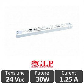 Sursa alimentare Slim GLP LED 30W 24V IP20