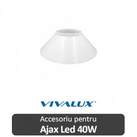 Vivalux AJAX COVER LED 40W Alb