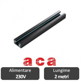 Aca Lighting Șină Proiectoare Led monofazata 2 metri