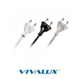 Cablu conectare  fără întrerupător alb
