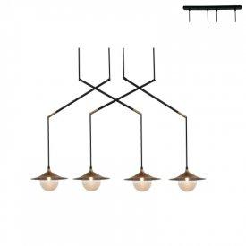 Lampa suspendata HL4314P96BB 4xG9