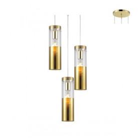 Lampa suspendata V371973PPB 3xE27