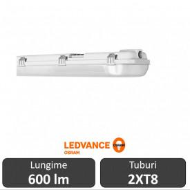 Osram Ledvance CORP PENTRU TUBURI LED Rezistent la apa IP65 2XT8 0.60 M