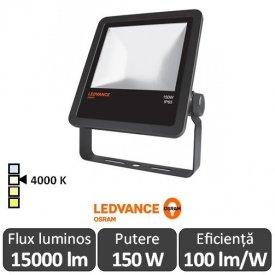 Osram Ledvance - Proiector LED de Exterior 150W IP65 4000K Alb-Neutru BK