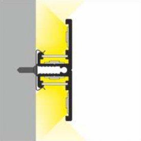 Profil LED aparent BACK 10, alb, lungime 2m