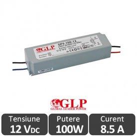 Sursa alimentare GLP LED 100W 12V IP67