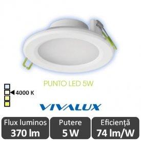 Vivalux PUNTO LED 5W alb-neutru