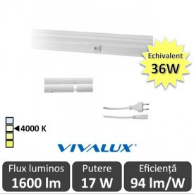 Vivalux Tub SPICA LED  17W T5 1180mm 4000K alb-neutru
