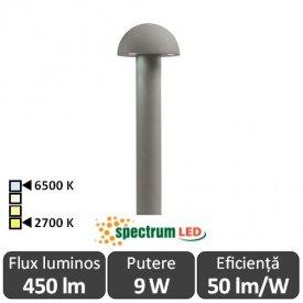 Spectrum Aquatique 9W IP44 2700-6500K 1m Alb-Cald/Alb-Rece
