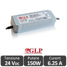 Sursa alimentare GLP LED 150W 24V IP67