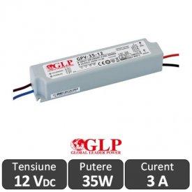 Sursa alimentare GLP LED 35W 12V IP67