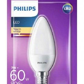Bec LED Philips - CorePro LEDcandle 7-60W E14 230V B38 alb-cald