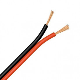 Cablu alimentare banda led monocolora 2x0.75 mm - 1 metru