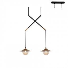Lampa suspendata HL4312P46BB 2xG9