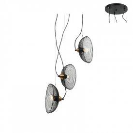 Lampa suspendata HL45843P40B 3xE27