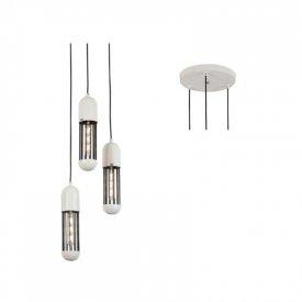 Lampa suspendata HM173P27WH 3xE27