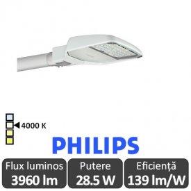 Philips - Corp iluminal stradal cu LED ClearWay BGP307 28.5W 4000K alb-neutru