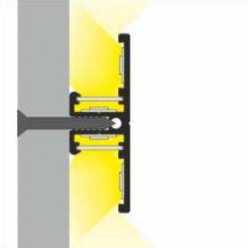 Profil LED aparent BACK 10, aluminiu, lungime 2m