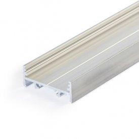 Profil LED aparent VARIO 30-01, aluminiu neanodizat, lungime 2m
