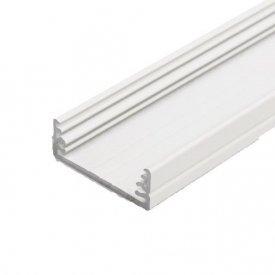 Profil LED aparent WIDE 24, alb, lungime 2m