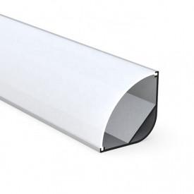 Profil LED de colt tip A208,pentru montaj aparent, lungime 2m