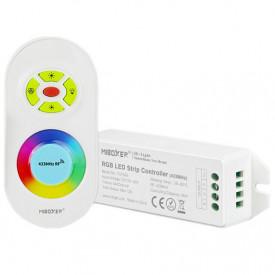 Set MiBoxer RGB Dimmer și telecomandă RF, 12A, 12-24V