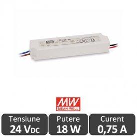 Sursa alimentare LED 18W 24V IP67