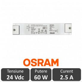 Sursa alimentare Led OSRAM 60W 24V 2.5A