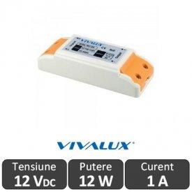 Sursa alimentare MPD LED 12W 12V-1A