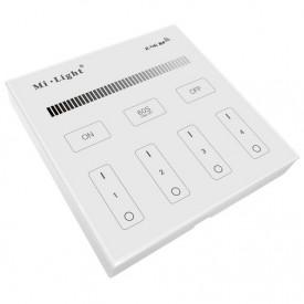Telecomanda MiBoxer Monocolor Smart Perete 4 zone RF Alb sau Negru