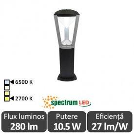 Spectrum Aquatique 10.5W IP65 2700-6500K 0.6m Alb-Cald/Alb-Rece
