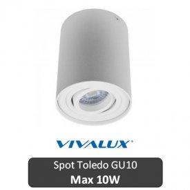 VIVALUX Spot Toledo Rotund Alb 1XGU10