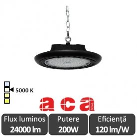 Aca Lighting-Aparat iluminat cu LED POZA Highbay 200W