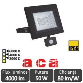 ACA - Proiector LED cu senzor 50W