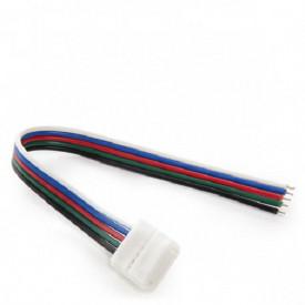 Conector flexibil pentru banda LED RGBW 12mm