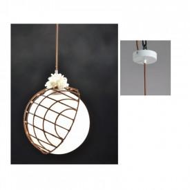 Lampa suspendata DCR921P33 1xE27