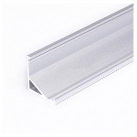 Profil LED de colț CABI 12, aluminiu anodizat, lungime 2m