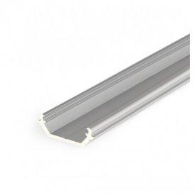 Profil LED de colț QUARTER 10, aluminiu anodizat, lungime 2m