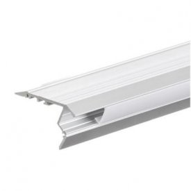 Profil LED de trepte tip A210, pentru montaj aparent, lungime 2m