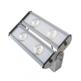 Proiector LED industrial cu 4 LEDuri 200W, alb-rece